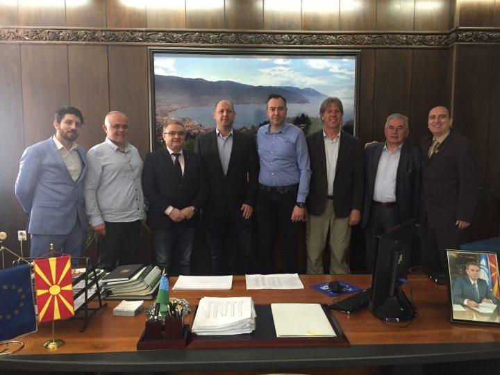 ОБК в Северна Македония, с поглед към Израел